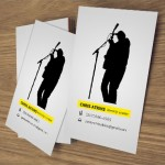 worship leader business cards