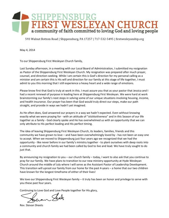 20140504 - SFWC Letter